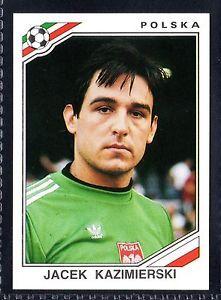 world cup panini mexico 86 - J.Kazimierski