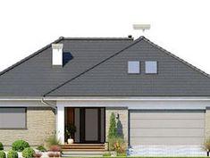 DOM.PL™ - Projekt domu FA Nela VI CE - DOM GC7-26 - gotowy koszt budowy House Plans, Outdoor Decor, Home Decor, Model, Modern Houses, Decoration Home, House Plans Design, Room Decor, Interior Design