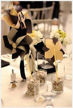 modern pinwheels