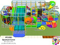 Commercial indoor Playground Equipment Manufacturer| FEC Designs by Iplayco