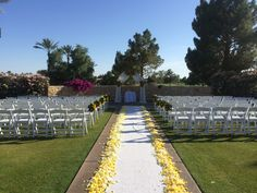 Our Upper Ceremony Lawn At Ocotillo Golf Resort