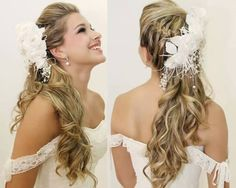 tendencia de penteado para noivas 2016 - Pesquisa Google
