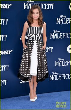 "Bailee Madison (2014 L.A. premiere of ""Maleficent"")"