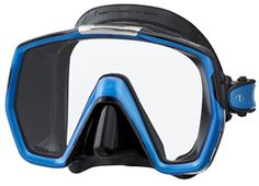 The new Tusa Freedom HD dive mask is the latest design to come from Freedom Technology. All Tusa Dive Masks are now available at Mike's Dive Store! Scuba Diving Mask, Dive Mask, Snorkel Mask, Dive Store, Facial Bones, Diving Regulator, Scuba Gear, Optical Frames, Health And Fitness