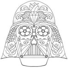 star wars free printable coloring pages for adults kids over 100 designs popular pins. Black Bedroom Furniture Sets. Home Design Ideas