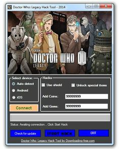 Doctor Who Legacy Hack Bbc Doctor Who, Hacks, Tips