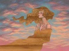 Los dibujos de Audrey Kawasaki son la encarnación de un cierto tipo de nirvana.