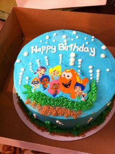 Bubble Guppies cake | Birthday Party Ideas