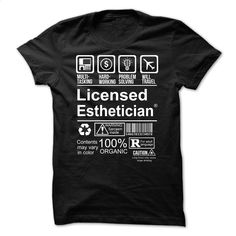 Hot Seller LICENSED ESTHETICIAN T Shirts, Hoodies, Sweatshirts - #geek t shirts #awesome hoodies. BUY NOW => https://www.sunfrog.com/Faith/Hot-Seller--LICENSED-ESTHETICIAN.html?60505