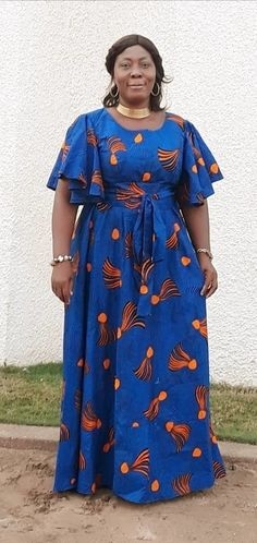 MAXI LONG DRESS by eyramwax - Long dresses - Afrikrea Short African Dresses, Latest African Fashion Dresses, Long Dresses, African Attire, Skirt Fashion, Honey Mustard, Clothing, African Dress, Dressy Outfits