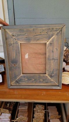 Teds Wood Working - Teds Wood Working - Reclaimed Wood Handmade Picture Frames by StampCreekPrimitives, - Get A Lifetime Of Project Ideas Inspiration! - Get A Lifetime Of Project Ideas & Inspiration! Reclaimed Wood Picture Frames, Handmade Picture Frames, Barn Wood Picture Frames, Reclaimed Wood Projects, Rustic Frames, Picture On Wood, Wood Photo, Salvaged Wood, Artsy Picture