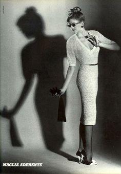 'Maglia Aderente' from……….Vogue Italia feat Debbie Dickinson