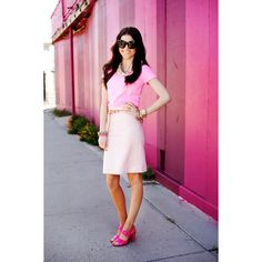 Pink Peonies: A Down Town Day+A Giveaway... via Polyvore