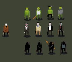 More game ideas. yay for not sleepingPlot is that you are a modern grim reaper/hitman who's here to kill people who cheated death through undeath. All the undead guys are somehow associated with criminal activites Zombie = low level drug dealersVampires = nightclub ownersWraiths = arms dealers etc etc. Game would be a very quick pace bust-into-houses-and-shoot-everyone kind of stuff, like Hotline Miami. Probably side-view since I dig that view.