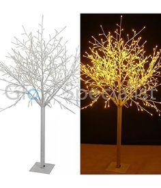 LED WILGENBOOM - als alternatief voor een kesrtboom.   Kerst ...