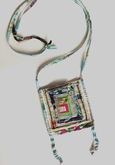 Handmade Pocket Bag Artsy One of a Kind by itzaChicThing on Etsy