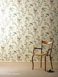 Little Greene behang, London Wallpapers 1: Great Ormond Street - Luxury By Nature