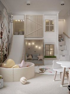 Cool Kids Bedrooms, Kids Bedroom Designs, Cute Bedroom Ideas, Room Ideas Bedroom, Baby Room Decor, Cool Rooms, Bedroom Decor, Girls Bedroom, Small Room Design