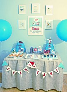 """The Little Engine That Could"" Birthday Party {hostesswiththemostess}"
