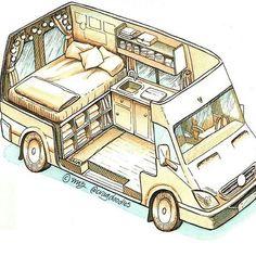 Tiny van conversion