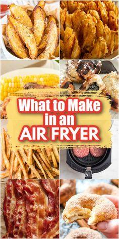 Power Air Fryer Recipes, Air Fryer Oven Recipes, Air Frier Recipes, Air Fryer Dinner Recipes, Air Fryer Rotisserie Recipes, Air Fryer Cooking Times, Cooks Air Fryer, Air Fried Food, Air Fryer Fried Chicken