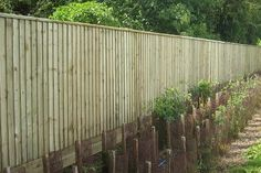 Feather-edge Fencing