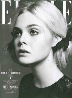 Elle Fanning for Elle November 2012