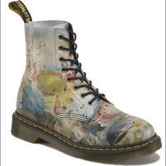 ISO Dr. Martens Pascal Heaven boots I'm looking for the Dr. Martens X Hieronymous Bosch Heaven boot in size 6 UK/8 US Women's. This is not a sale listing! Dr. Martens Shoes Combat & Moto Boots