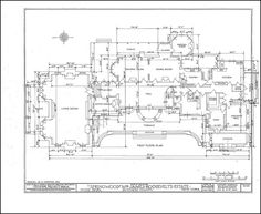 Kykuit cellar floor plan known also as the john d for Hyde homes floor plans