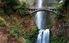 Amazing Multnomah Falls Multnomah Falls – A stunning Waterfall located in the Oregon side of Columbia River Bridge. Description from worldfortravel.com. I searched for this on bing.com/images
