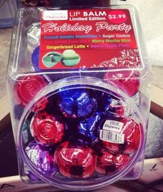 Red Velvet Cupcake Lip Balm - Spotted: Walgreens Revo Holiday 2014 Limited Edition Holiday Party Lip Balms