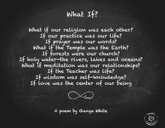 """""""What if our religion was each other If our practice was our life - Google Search"""