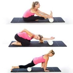 Five ways to use a foam roller.