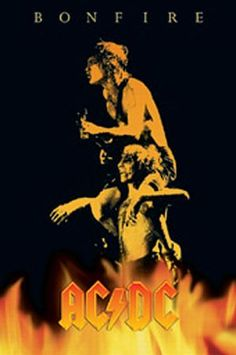 AC/DC posters: AC/DC poster features Angus Young and Brian Johnson. The poster depicts the cover art from the AC/DC Bonfire CD set. Ac Dc, The Weeknd Trilogy, Bon Scott, Music Logo, Acdc Music, Poster Prints, Art Prints, Posters, Create Photo