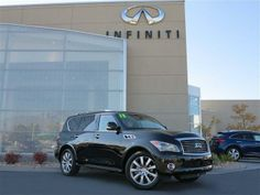 2013 Infiniti QX56 Base 4x4 4dr SUV SUV 4 Doors Black Obsidian for sale in Murray, UT Source: http://www.usedcarsgroup.com/used-infiniti-for-sale-in-murray-ut