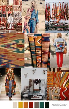 RIO GRANDE - color, print & pattern trend inspiration for Fall 2019 by Pattern Curator.Pattern Curator is a trend service for color, print and pattern inspiration. Nomad Fashion, Hijab Fashion, Fashion Brands, Fashion Outfits, Casual Fashion Trends, Trendy Fashion, Latest Fashion, Textile Pattern Design, Fashion Forecasting