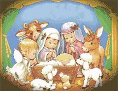 Free Pictures and Cross Stitch Patterns Thomas Gallery: Free christmas cross stitch pattern