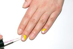 Nail art hasn't disappeared; it's just evolved into something chicer, subtler, and a whole lot cooler. The 2015 runways were full of pared-down, geometric designs—and a whole lot of negative space. Here, manicurist Alicia Torello shares her step-by-step and all the tools and polishes you need to pull off the trend.