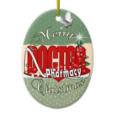 gifts for pharmacists christmas ornaments - Pharmacy Christmas Ornaments