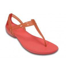 Crocs Isabella T-strap Sandal Coral