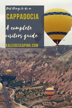 A guide to the best things to do in Cappadocia, Turkey to help you plan your travel itinerary, including how to have the best hot air balloon experience! Stuff To Do, Things To Do, Stay In A Castle, All Ride, All Flights, Cappadocia Turkey, Underground Cities, Air Balloon Rides, Red Tour