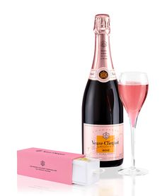 Get a bottle of Veuve Clicquot Rose #Champagne with Cornish Gourmet Lemon Meringue #Marshmallows with Flemings Mayfair Hotel's romantic package!
