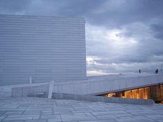 Architecture, Norway: Oslo operahus designed by Snøhetta. Photo by malinybi, via Flickr