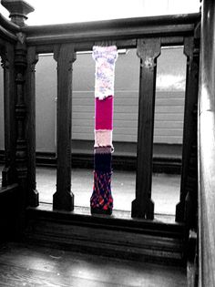 Our first knit bombing assignment around the school Stitches, Knitting, School, Image, Loreto, Sewing Stitches, Tricot, Weaving, Knits