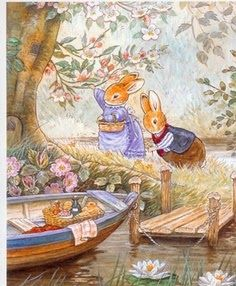:: Sweet Illustrated Storytime :: Illustration by Cynthia and Brian Paterson :: Foxwood Tales