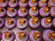 12 Scooby Doo Cupcake Rings on Etsy, $5.99