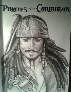 Eigene Jack Sparrow Zeichnung
