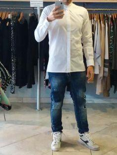 Shirt I'M BRIAN Jeans I'M BRIAN Shoes Diadora Generation 2.0