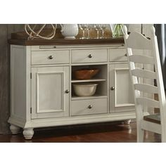 Shop for Springfield Farmhouse Two-Toned Sideboard. Get free delivery at Overstock.com - Your Online Furniture Shop! Get 5% in rewards with Club O!