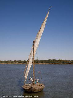 Traditional Sailing Boat, Dongala, Sudan